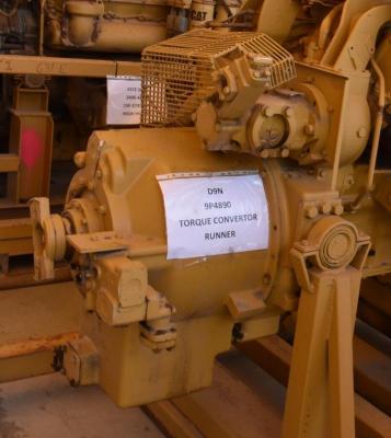Caterpillar 9P-4890 Torque Converter