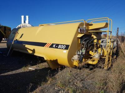 2012 KP Klein K-800 Water Tank