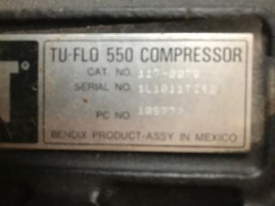Caterpillar 1170070 Compressor